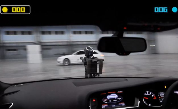 Audi Lets Pair of RS4 Avants Play Paintball, Everyone Wins—Except Americans