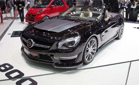 Brabus 800 Roadster: Because the 621-hp Mercedes-Benz SL65 AMG Is for Wussies [2013 Geneva Auto Show]