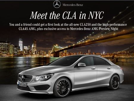 2014 Mercedes-Benz CLA45 AMG Set for New York Reveal [2013 New York Auto Show]