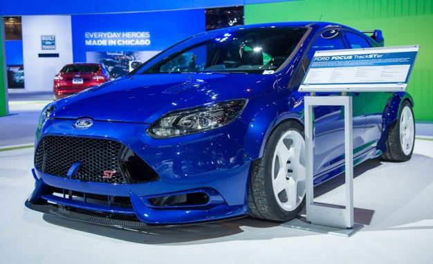 They Call It TrackSTer: Ken Block–inspired, 350-hp Ford Focus ST [2013 Chicago Auto Show]