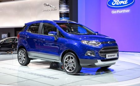 The Ford EcoSport is Just Like a Fiesta, Only Tougher [2013 Geneva Auto Show]