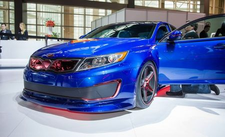 Kia Reveals Sixth DC Comics–Inspired Show Car, a Superman-Themed Optima Hybrid [2013 Chicago Auto Show]
