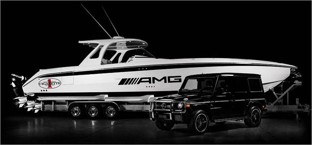 Mercedes-Benz AMG and Cigarette Racing Reveal G63-Inspired Speedboat