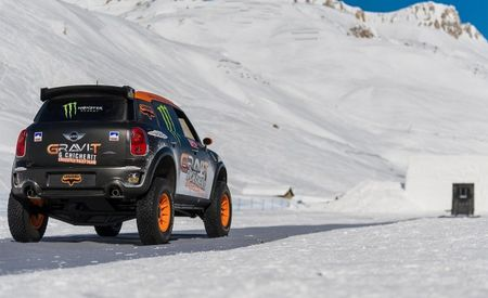 Mini Countryman Performs Backflip; It Really Doesn't Matter Why