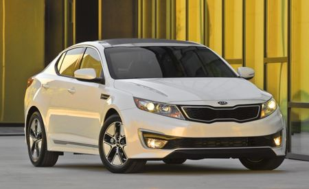 2013 Kia Optima Hybrid Gets More Torque, Better Mileage, Another Trim Level, and a Slightly Higher Price