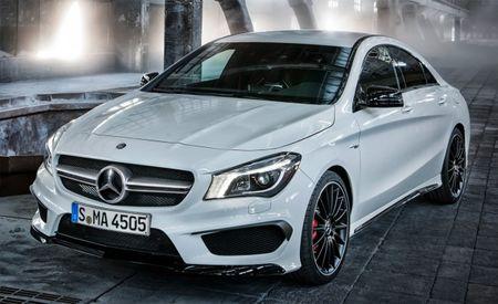 2014 Mercedes-Benz CLA45 AMG Photos Leak Online [2013 New York Auto Show]