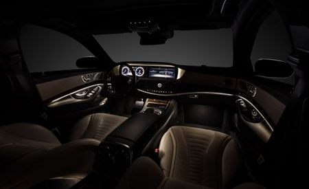 2014 S-class Interior Revealed, Takes a Page from the Maybach Book of Opulence