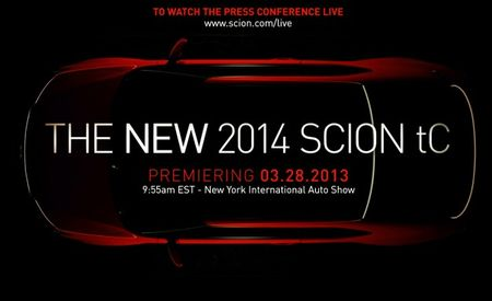 FR-Who? Scion Bringing Updated tC Coupe to New York [2013 New York Auto Show]