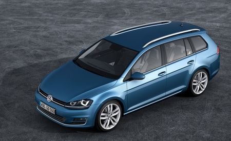 First Images of New Volkswagen Golf Variant / SportWagen Break Free [2013 Geneva Auto Show]