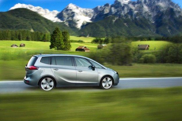 Opel Zafira Tourer 1.6 CDTI: A 120-mph, 50-mpg Entry-Level Van [2013 Geneva Auto Show]