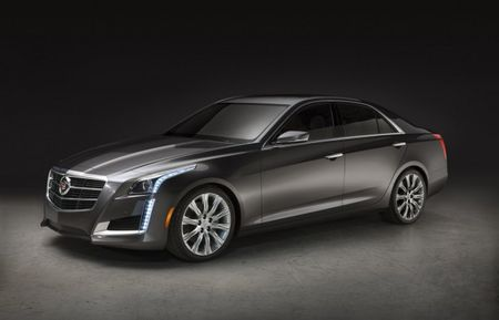 Image Leak! The 2014 Cadillac CTS Sure Is Purty [UPDATED with Full-Car Images]