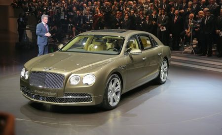 2014 Bentley Flying Spur, Live from Geneva and from All Angles [In the Round 360˚ Photos]