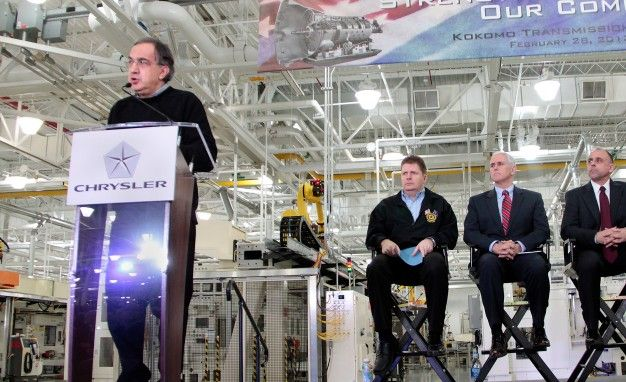 Chrysler Announces 2014 Production of Nine-Speed Automatics in Indiana