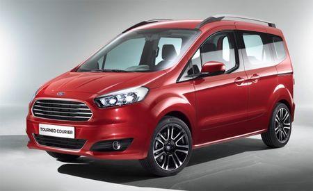 Ford's Tiny Tourneo Courier Passenger Van: We Want It [2013 Geneva Auto Show]
