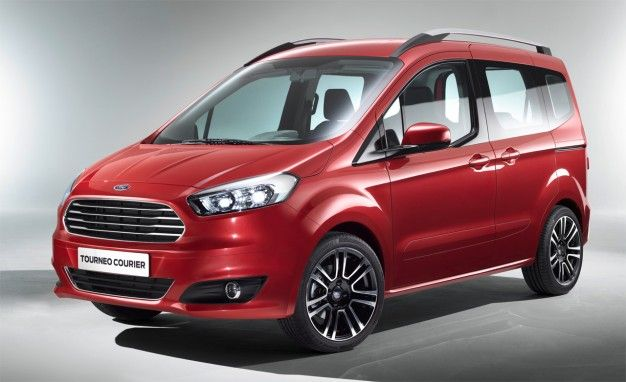 Ford's Tiny Tourneo Courier Passenger Van: We Want It [2013 Geneva Auto Show]