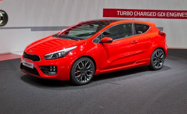 Turbocharged Kia Pro_Cee'd and Cee'd GT Take Aim at GTI—In Europe [2013 Geneva Auto Show]
