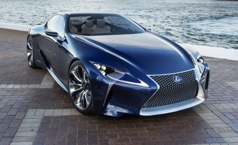 Ultra-Sexy Lexus LF-LC Coupe Concept Reportedly Confirmed for Production
