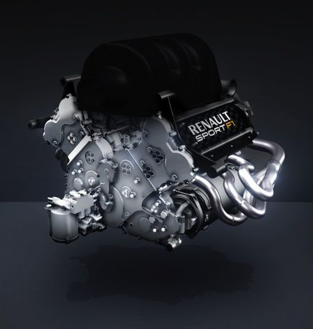 Renault Details Turbo V-6 Engine for 2014 Formula 1 Season