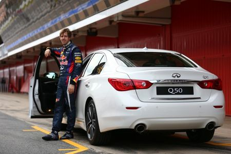 Sebastian Vettel Named Infiniti's Director of Performance, Director of Teamwork Position Still Open [2013 New York Auto Show]