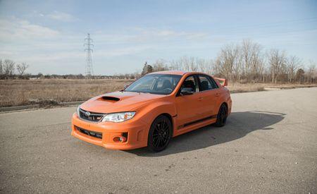 2013 Subaru WRX STI Special Edition: 1 Shade of Orange, 360 Degrees of Photos