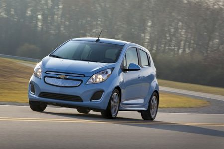 Spark Ranger: 2014 Chevrolet Spark EV EPA Range, Efficiency Announced