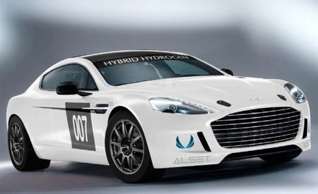 Aston Martin Blows Some Steam—Or At Least Vapor—With Hydrogen-Powered Rapide S Race Car