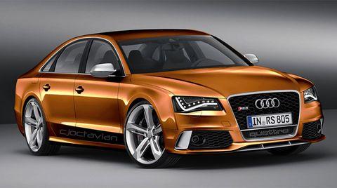 Audi Rs8 Artist S Rendering