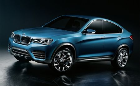 BMW X4 Concept Images Leaked Ahead of Likely Shanghai Auto Show Debut