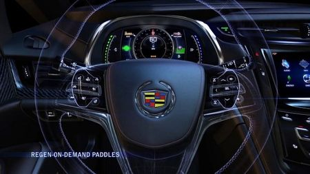 Cadillac ELR's Paddle Shifters Provide On Demand Regenerative Braking