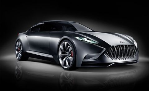 Hyundai HND-9 Concept: A Glimpse Into the Future of the Genesis Coupe