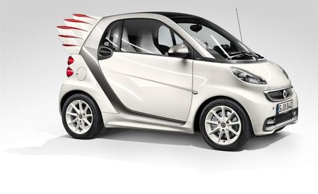 Smart Fortwo Edition by Jeremy Scott Production Details: Tailfins are Back [2013 Shanghai Auto Show]