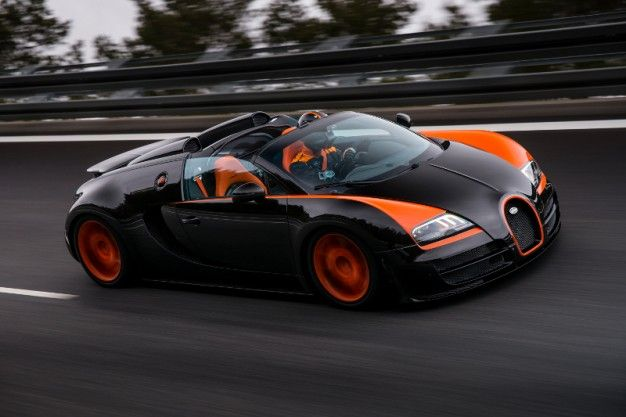 Bugatti Veyron 16.4 Grand Sport Vitesse is World's Fastest Roadster—Is Anyone Surprised?