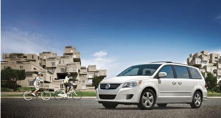 Volkswagen to Drop Routan Minivan at End of 2013, According to Report