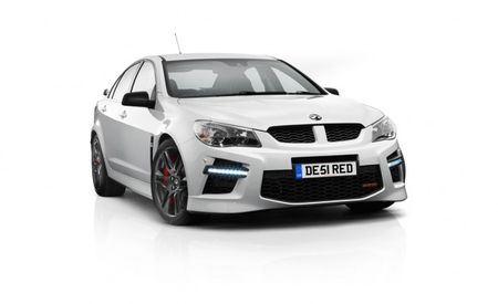 Vauxhall Dives Into GM Product Bin and Comes Up with 576-hp VXR8 GTS Sedan