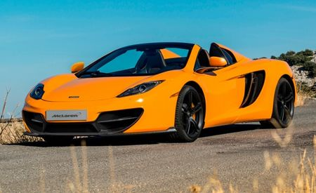 McLaren Celebrates 50th Anniversary with Special-Edition 12C Coupe and Spider