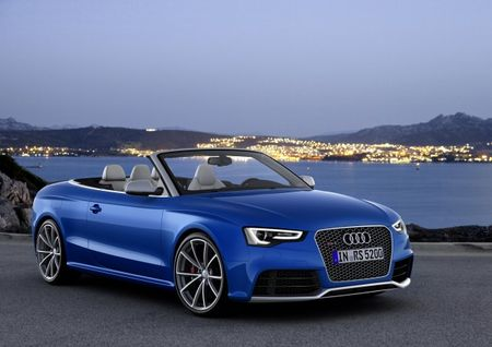 Somebody Call for a Cab? 2014 Audi RS5 Cabriolet Starts at $78,795