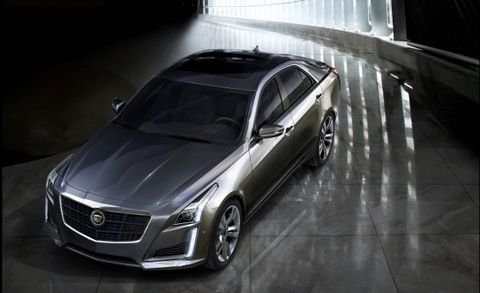 Cadillac Cuts to the Chase, Releases Partial Pricing for 2014 CTS
