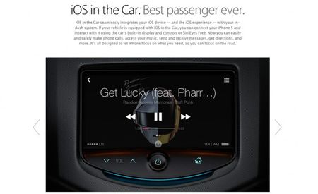 Apple Announces 'iOS in the Car' Phone-to-Infotainment-Screen Integration at 2013 WWDC