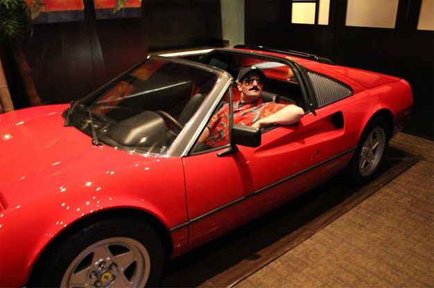 Life-Long Magnum P.I. Fan Throws Himself a Bash With a Ferrari 308