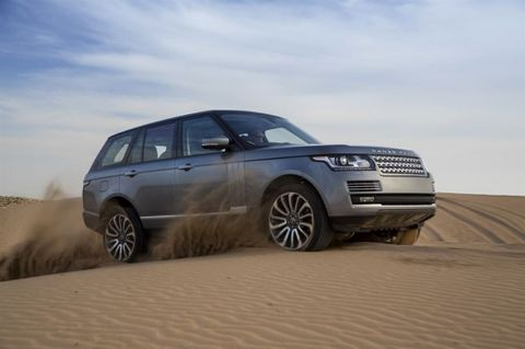 Land Rover to Bring Diesel-Hybrid Range Rover to U.S., Report Says