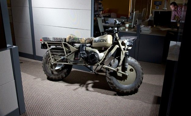 Stuff We Drove in the Office: Rokon Trail-Breaker 2WD Motorcycle