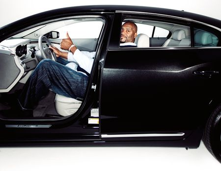 Shaq'ed Up: Can Shaquille O'Neal Even Fit in a Buick LaCrosse? We Find Out