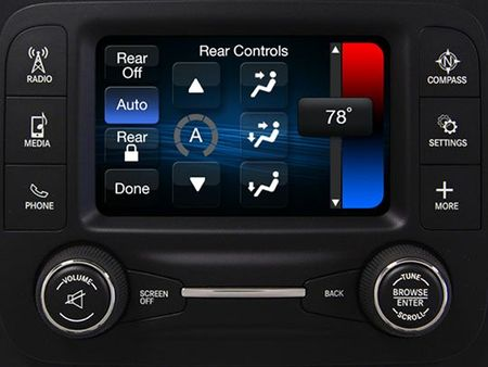 Chrysler Adding Five-Inch Uconnect Infotainment Setup to Ram 1500, Fiat 500L