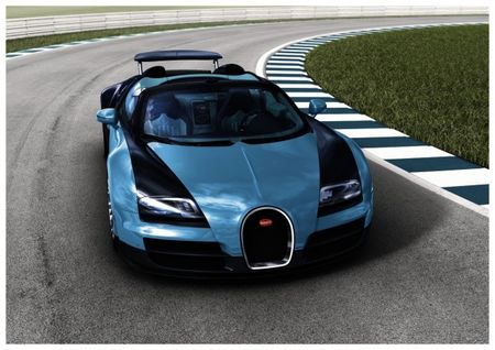 Bugatti Offers First of Six Ultra-Low-Volume Veyron Legend Special Editions