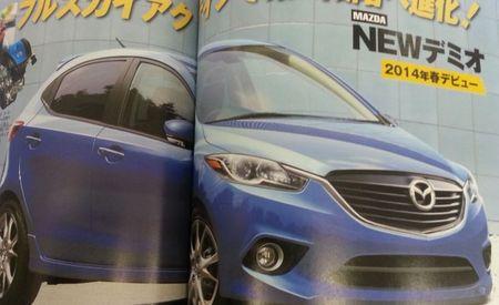 Next-Generation Mazda 2 Allegedly Previewed in Japanese Magazine, Inherits Kodo Design Language