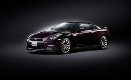 Nissan Crafts Another Special GT-R—This One's Purple