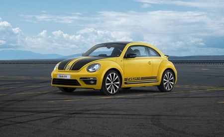 Paint It Black—and Yellow: 2014 VW Beetle GSR Special Edition Starts at $30,790