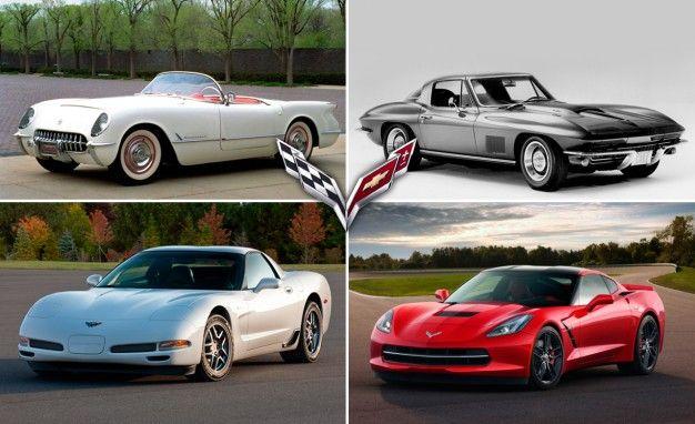 From Inception To C7 A Timeline Of Corvette History Feature Car. Chevrolet Corvette Timeline Milestones And More From C1 Through C7. Corvette. 68 Corvette Front Suspension Diagram At Scoala.co