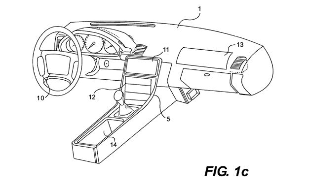 Apple Patents Its Own In-Dash Infotainment System