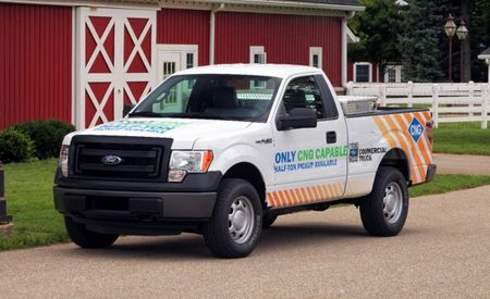 Ford to Offer Compressed Natural Gas Prep Package on 2014 F-150